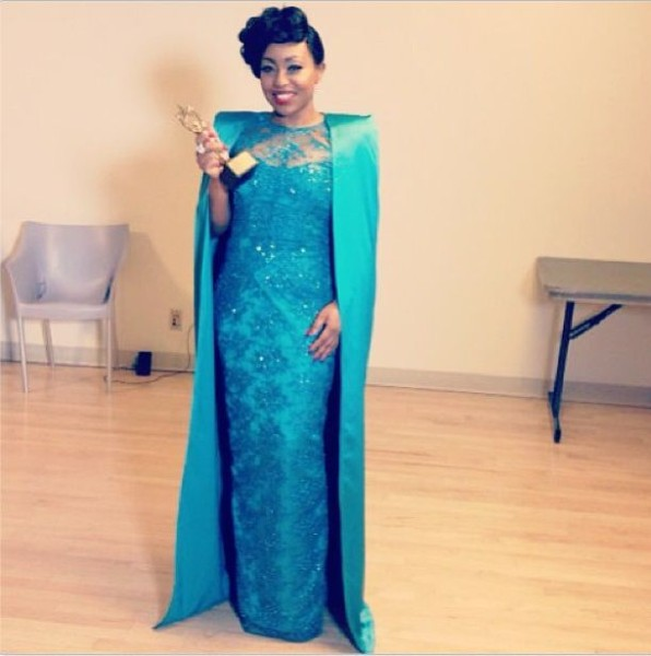 The NollyWood Super Star Out Fit To The 2013 Nigerian Entertainment Awards. Which Took PLace  In New York , USA