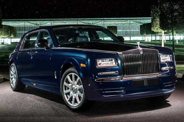 Rolls Royce Diamond En-crusted Celestial Phantom